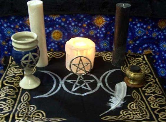 A Simple Altar Dedication Ritual