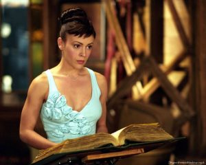 Charmed Book of Shadows with Alyssa Milano
