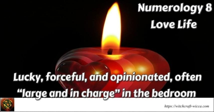 Numerology 8 Love Life