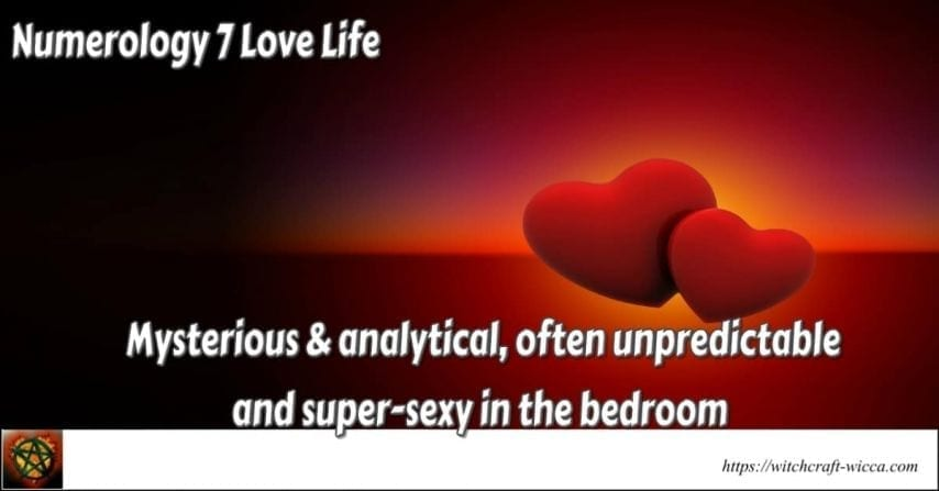 Numerology 7 Love Life