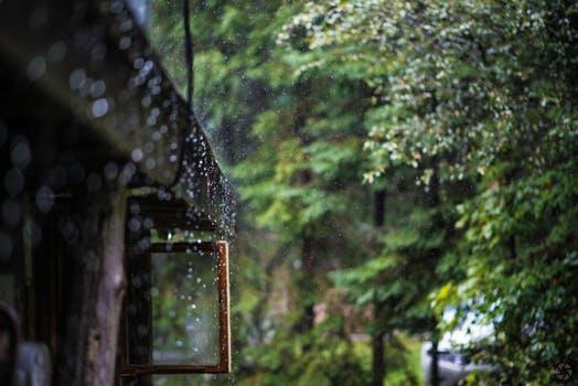 Simple rain casting
